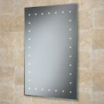 Hib Solar LED Illuminated Bathroom Mirror